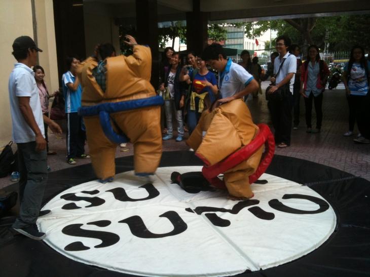 Sumo- Japanese fighting game