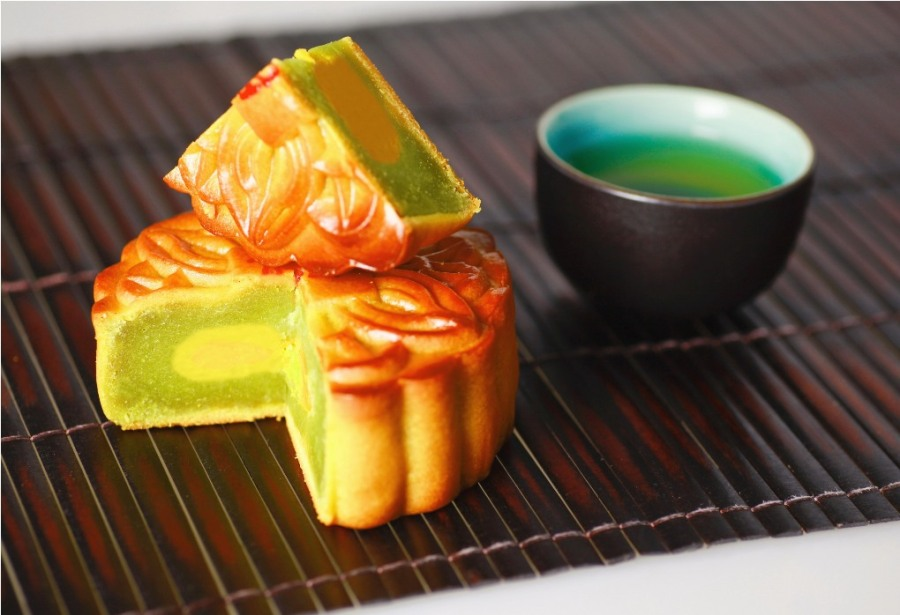 Mooncakes for the Mid-Autumnfestival