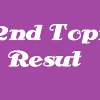 My 32nd Topik's result