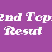 My 32nd Topik's result