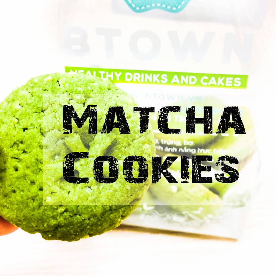 Matcha cookie weekend