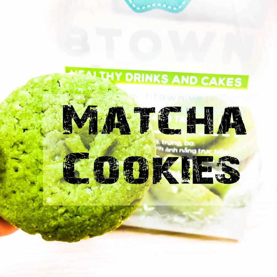 Matcha cookie weekend