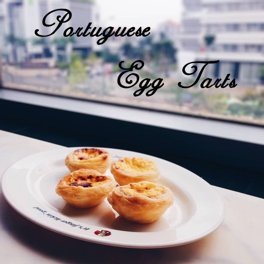 Farewell with Portuguese eggtarts