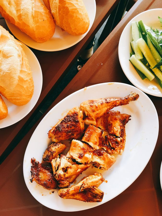 """[Review]Grilled chicken at """"Ga nuong O oo"""""""